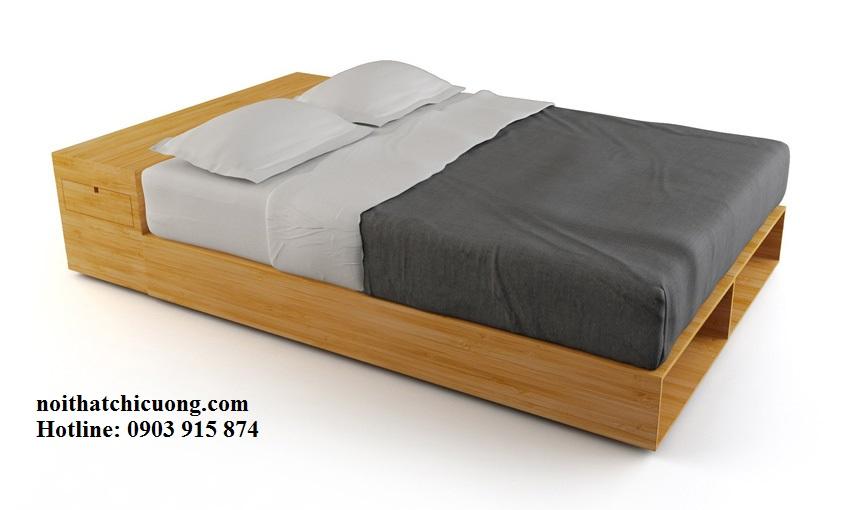Nội Thất Phòng Ngủ - Giường Ngủ Gỗ Sồi - 124