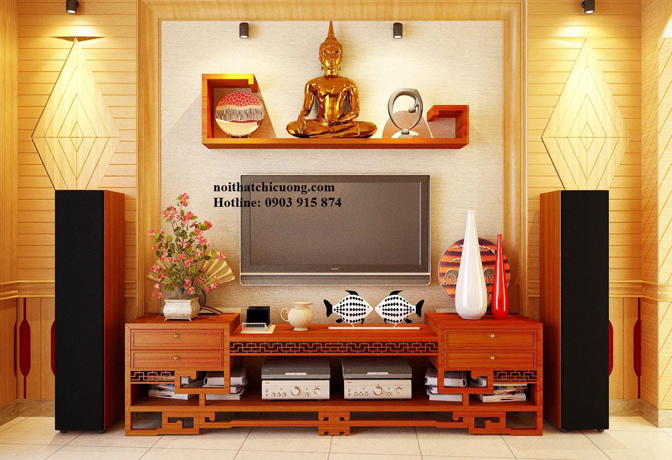 Nội Thất Phòng Khách - Kệ TiVi - 060