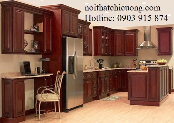 Nội Thất Phòng Bếp - Tủ Bếp Có Bàn Đảo - 041