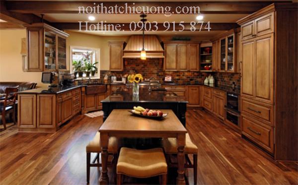 Nội Thất Phòng Bếp - Tủ Bếp Có Bàn Đảo - 042