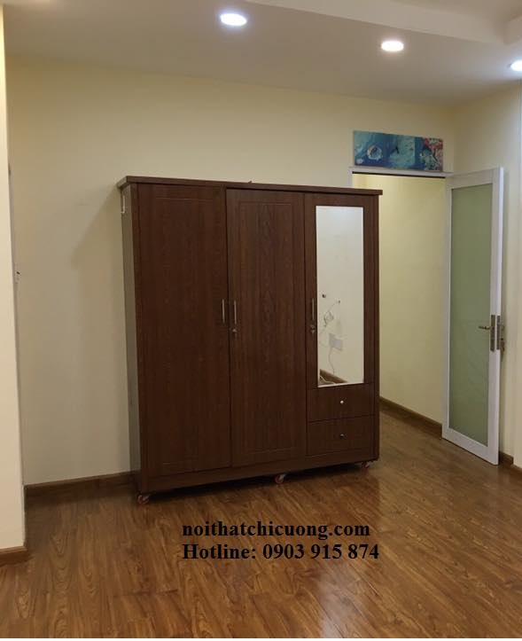 Nội Thất Phòng Ngủ - Tủ Quần Áo Cánh Mở - 061