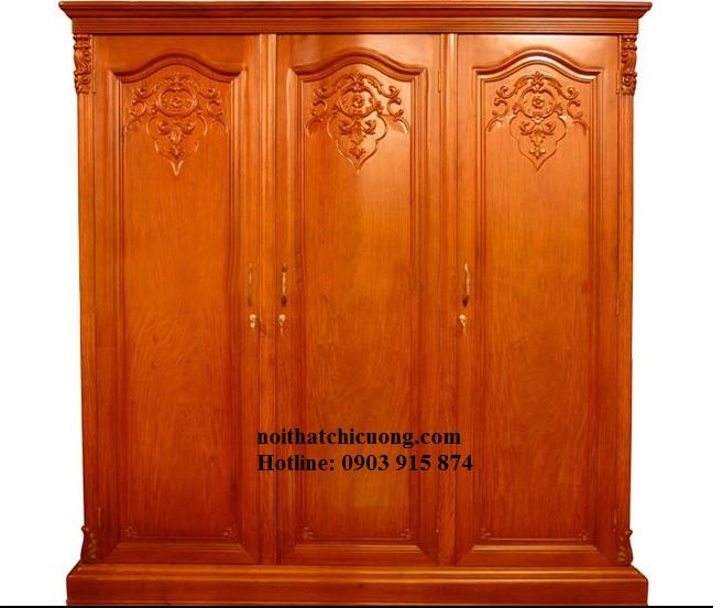 Nội Thất Phòng Ngủ - Tủ Quần Áo Cánh Mở - 063