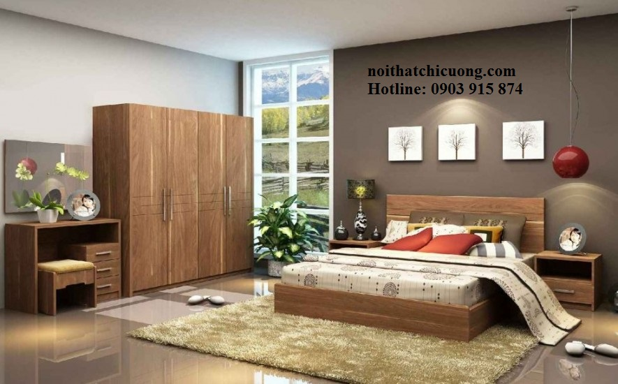Nội Thất Phòng Ngủ - Tủ Quần Áo Cánh Mở - 064