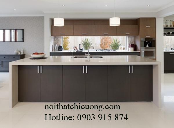 Nội Thất Phòng Bếp-Tủ Bếp Có Bàn Đảo -038