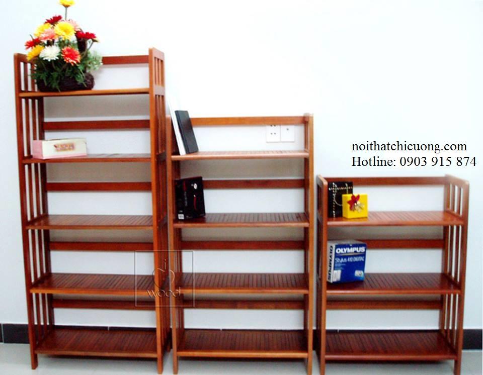 Nội Thất Phòng Khách - Tủ Sách Độc Đáo - 006