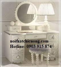 Nội Thất Phòng Ngủ - Bàn Trang Điểm Sơn Trắng - 088