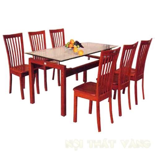Bộ Bàn Ăn Phòng Bếp Gỗ Huỳnh Đàng -028