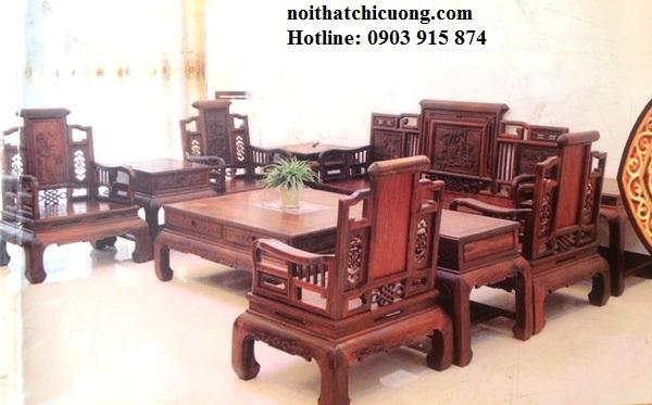 Bàn Ghế Đẹp Cho Nhà Xinh - Gỗ Cẩm Lai Cao Cấp-109