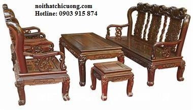 Bàn Ghế Đẹp Cho Nhà Xinh - Gỗ Xoan Đào Cổ Điển-111