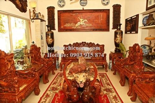 Bàn Ghế Phòng Khách - Gỗ Cẩm Lai Sang Trọng-115