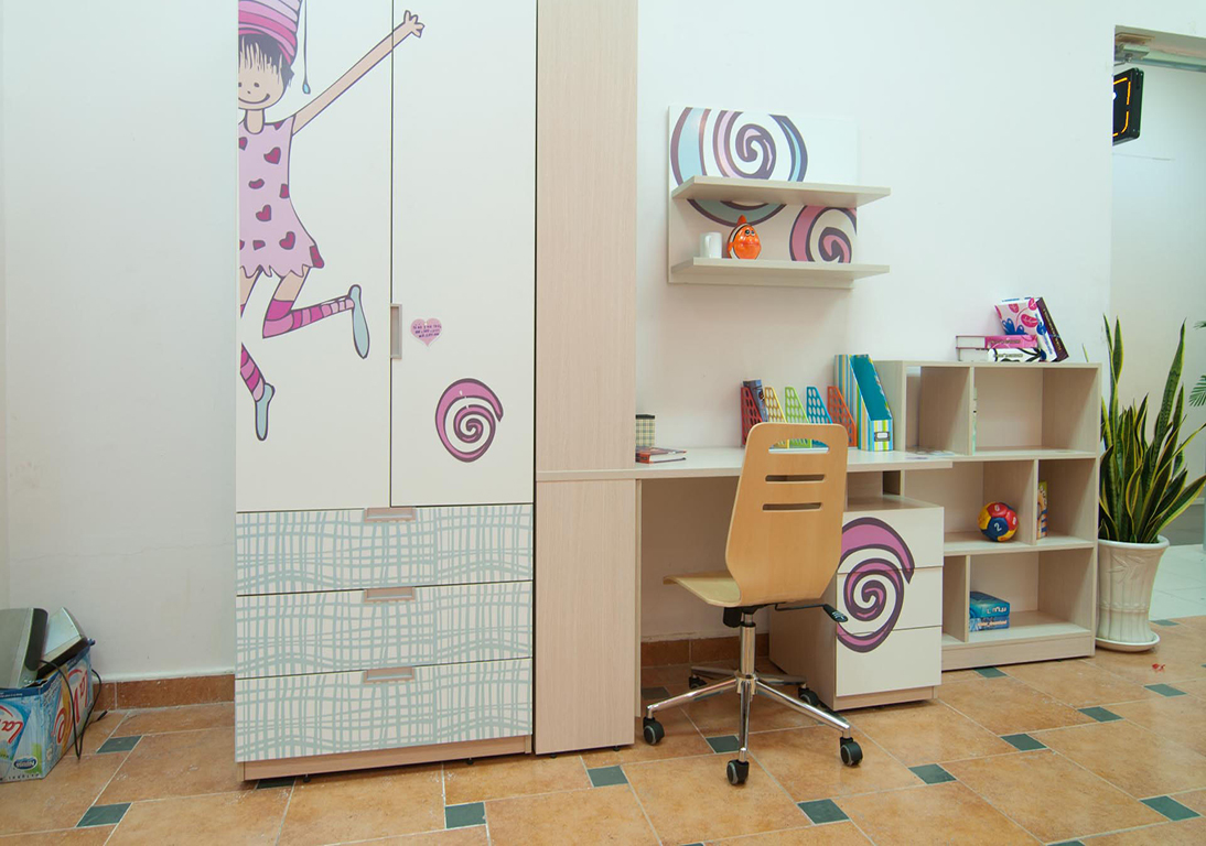 Nội Thất Nhà Phố Phòng Trẻ Em Gỗ Cẩm Lai -017