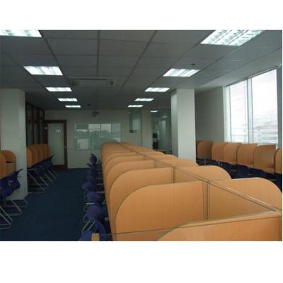 Vách Ngăn Văn Phòng Bằng Gỗ Tự Nhiên Bền Đẹp -008