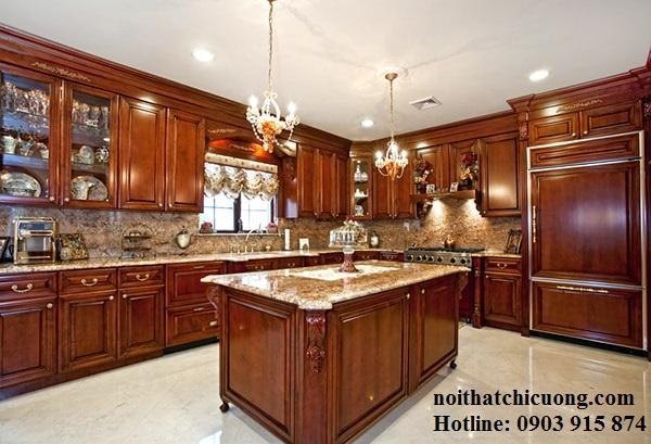 Nội Thất Phòng Bếp -Tủ Bếp Cổ Điển Châu Âu - 034