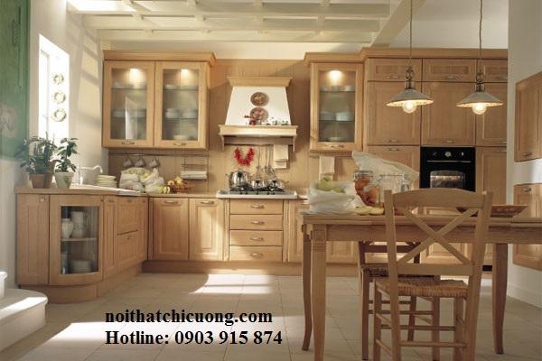 Nội Thất Phòng Bếp -Tủ Bếp Cổ Điển Châu Âu - 035