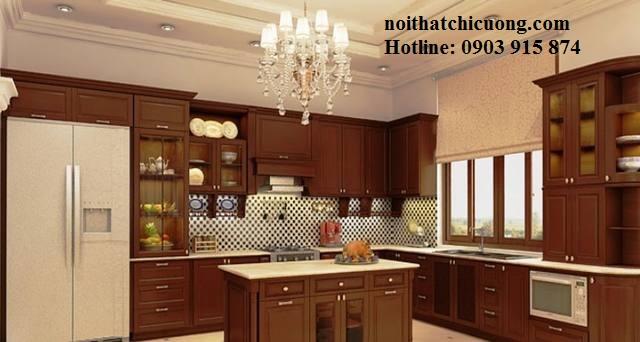 Nội Thất Phòng Bếp -Tủ Bếp Cổ Điển Châu Âu - 038