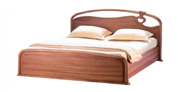 Giường Ngủ Đẹp Bằng Gỗ Sồi Cao Cấp -052