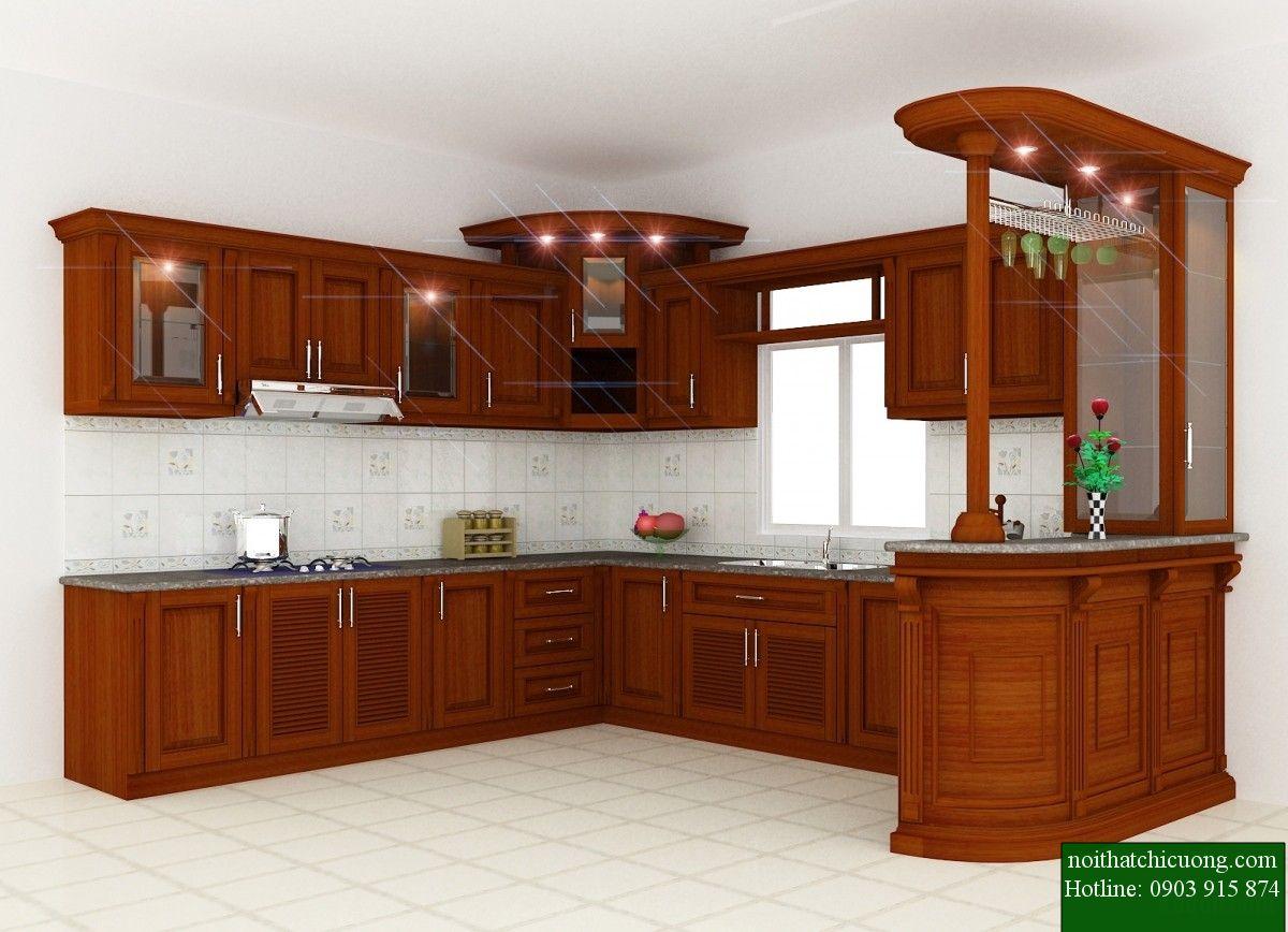 Nội Thất Phòng Bếp - Tủ Bếp Chữ U - 71