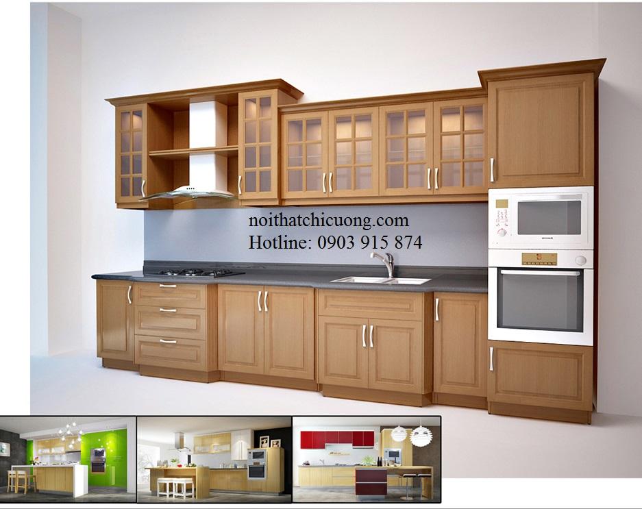Nội Thất Phòng Bếp - Tủ Bếp Chữ L - 120