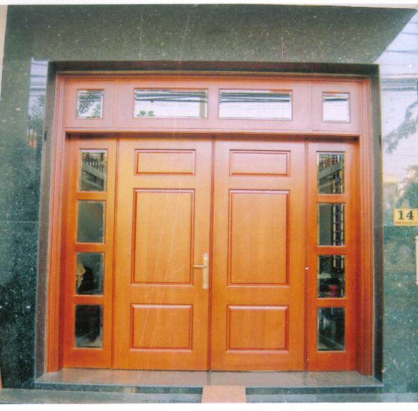 Mẫu Cửa, Khung Cửa Cho Nhà Phố Bằng Gỗ Huỳnh Đàng Đẹp -020