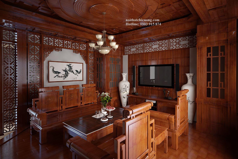 Nội Thất Phòng Khách - Bàn Ghế - 187