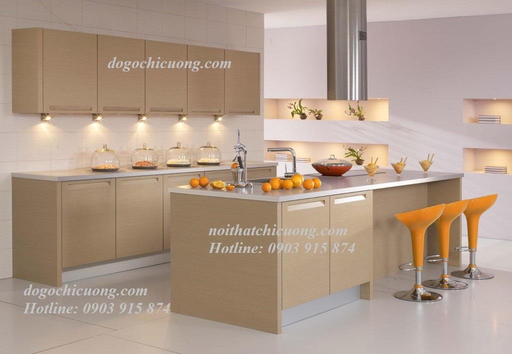 Nội Thất Phòng Bếp- Tủ Bếp Có Bàn Đảo