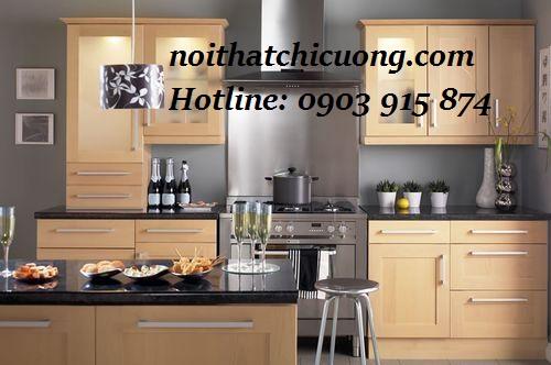 Nội Thất Phòng Bếp- Tử Bếp Chữ L -088
