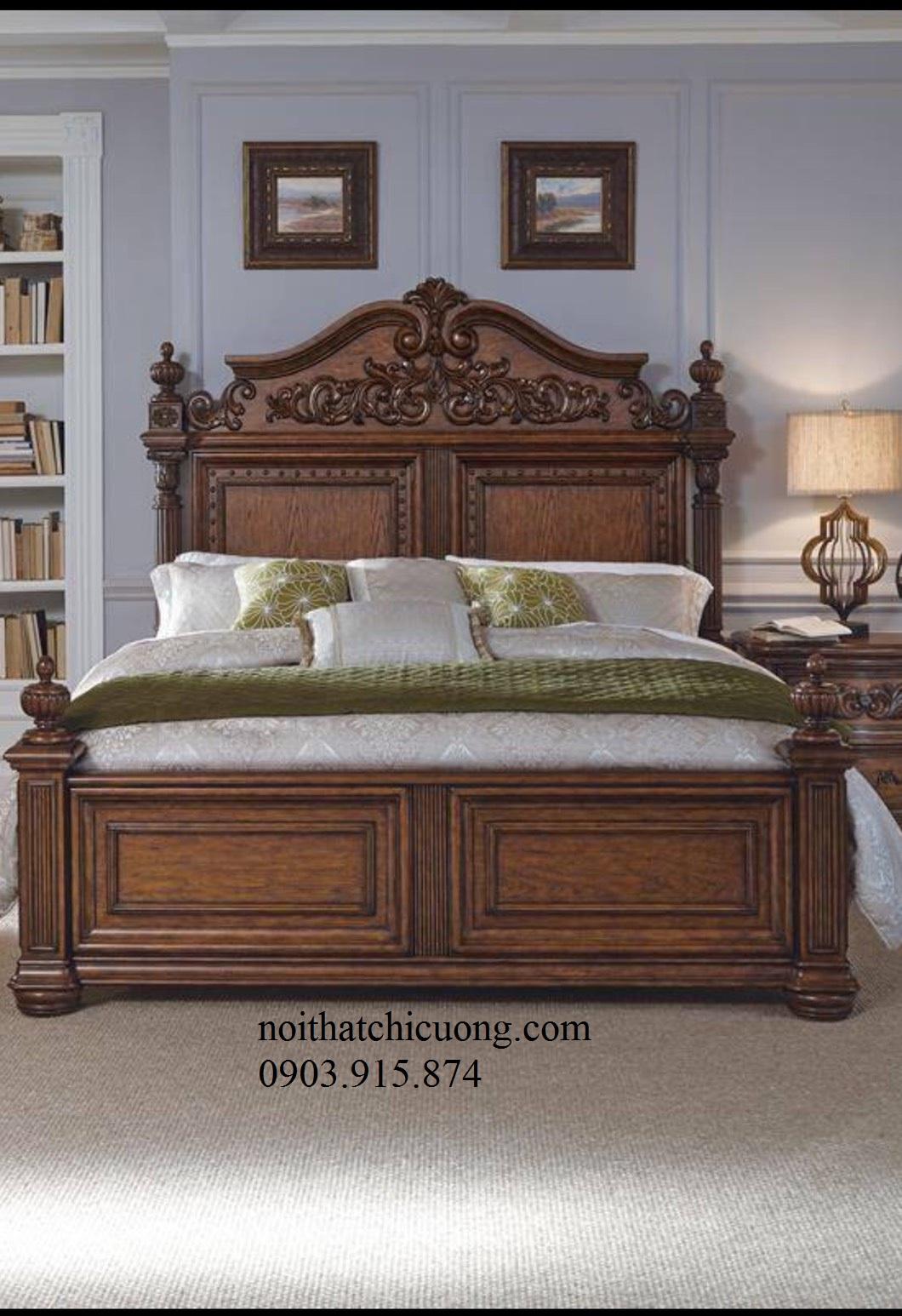 Giường Ngủ Cao Cấp Kiểu Dáng Hiện Đại 286