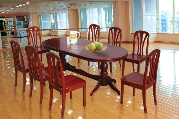 Bộ Bàn Ăn Cho Phòng Bếp, Gỗ Sồi -049