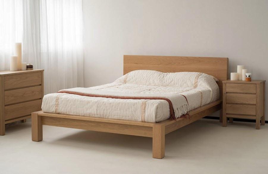 Giường Ngủ Hiện Đại Bằng Gỗ -003