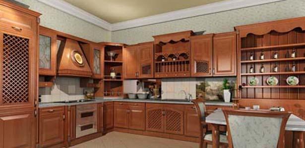 Nội Thất Phòng Bếp - Tủ Bếp Dạng Chữ L Hiện Đại -031